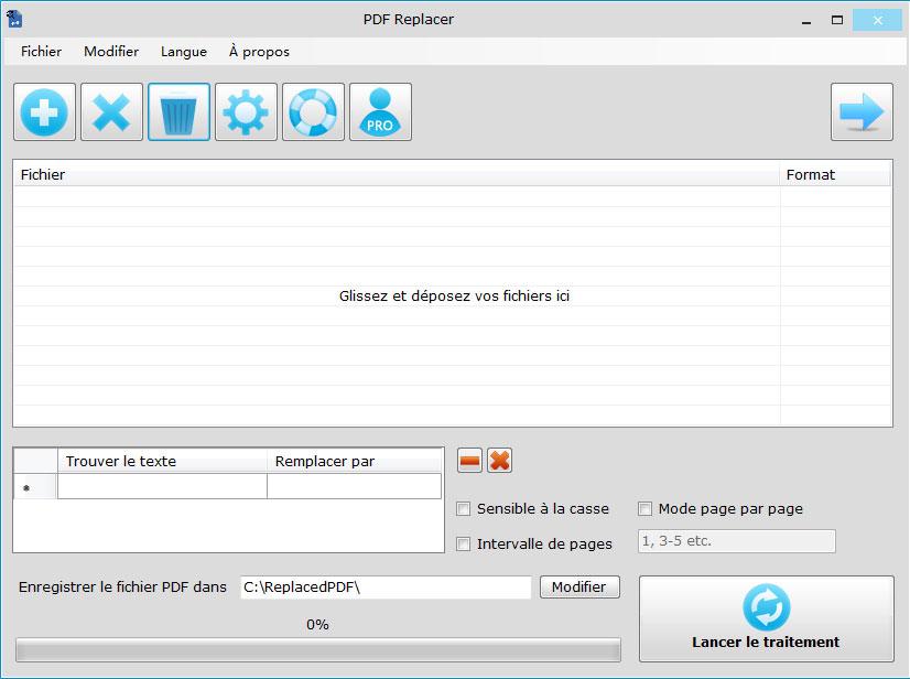 Rechercher et remplacer du texte en masse dans des fichiers PDF