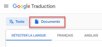 Utilisation de Google Translate pour traduire des fichiers PDF