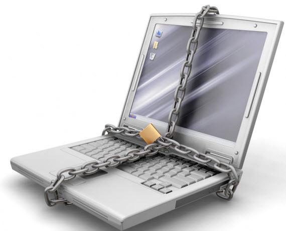 ordinateur protégé
