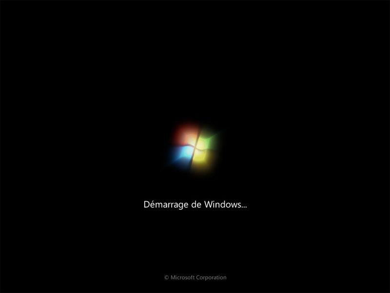 démarrage Windows 7