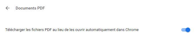 lire automatiquement PDF dans Chrome