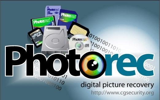 PhotoRec windows