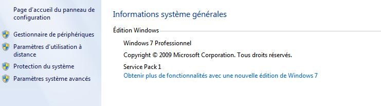 information version windows