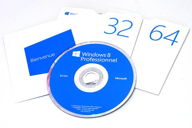 Windows 8 32-bits Windows 8 64-bits