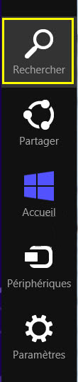 Rechercher Windows 8