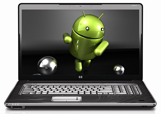 application android sur pc Windows 7