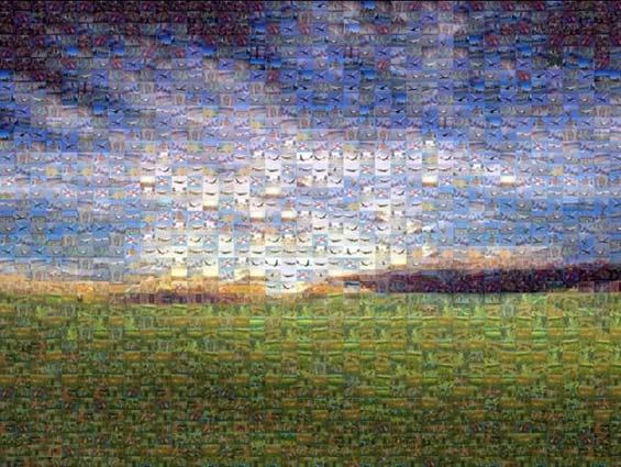 exemple mosaïque image