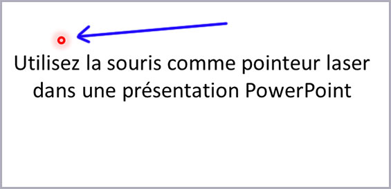 pointeur laser powerpoint