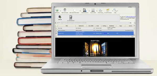 calibre :gestion de bibliothèque livres électroniques