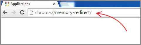 memory redirect google chrome