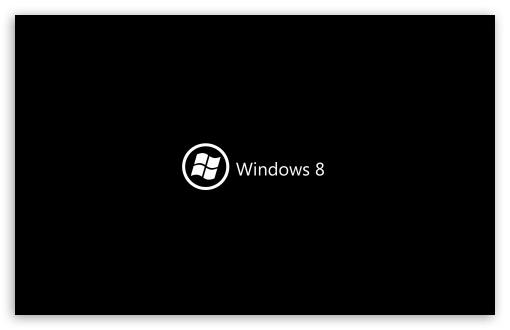 bureau windows 8.1 noir