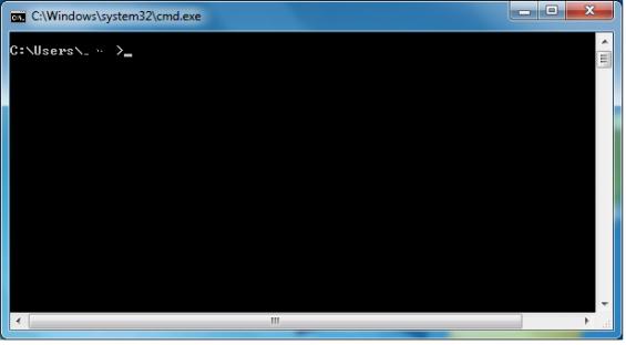 invite commande Windows 8