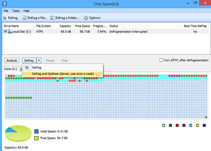 defragmentation optimisation disque
