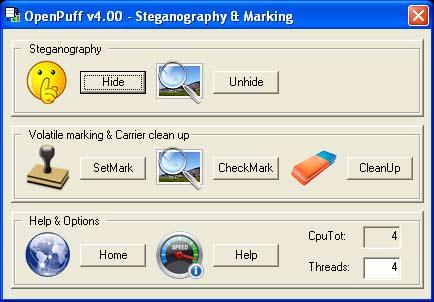 OpenPuff: logiciel stéganographie