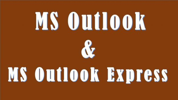 Différence entre Outlook et outlook express
