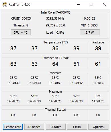 real temps logiciel gratuit pour mésurer température pc
