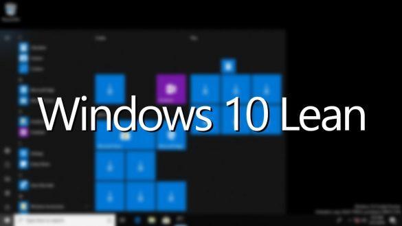 version allégée de Windows 10