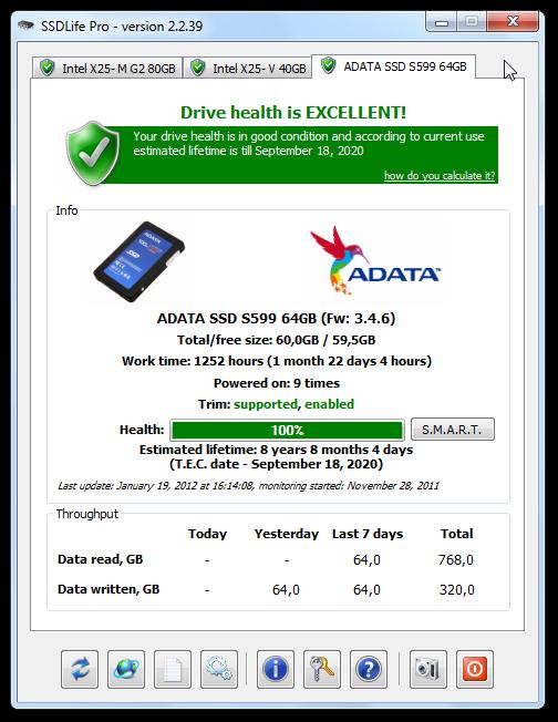etat disque ssd windows