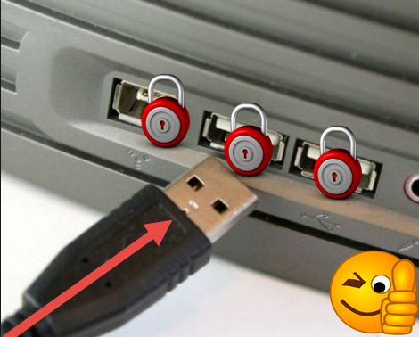 désactiver les ports USB dans Windows 10