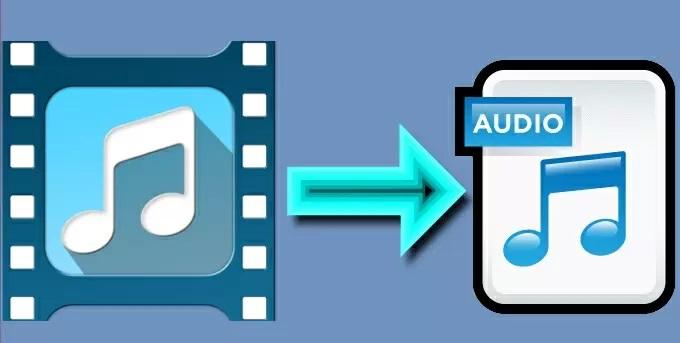 extraire l'audio d'un clip vidéo