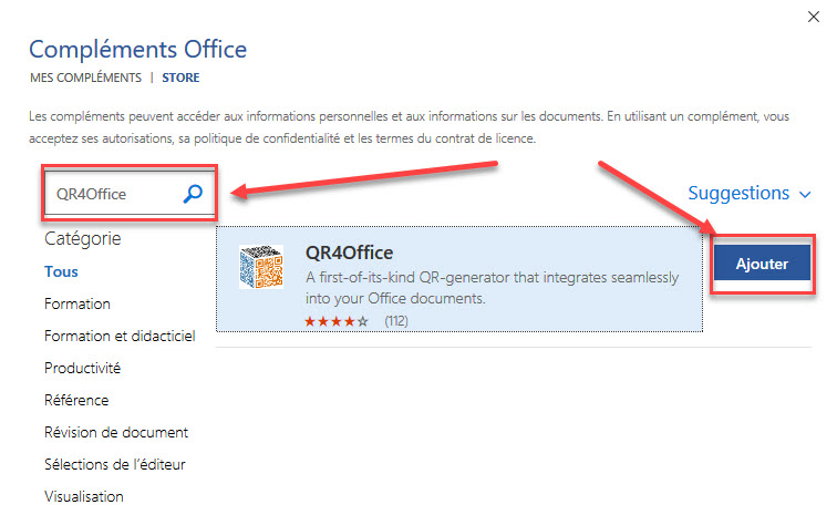 QR4Office